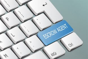 Escrow Agent Keyboard Button